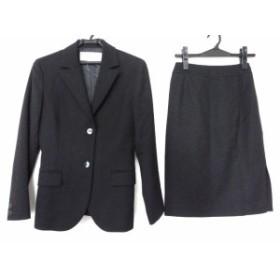 ナチュラルビューティー ベーシック NATURAL BEAUTY BASIC スカートスーツ サイズS レディース 美品 黒【中古】