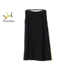 ワイズ Y's ロングスカート サイズ2 M レディース 黒   スペシャル特価 20191121
