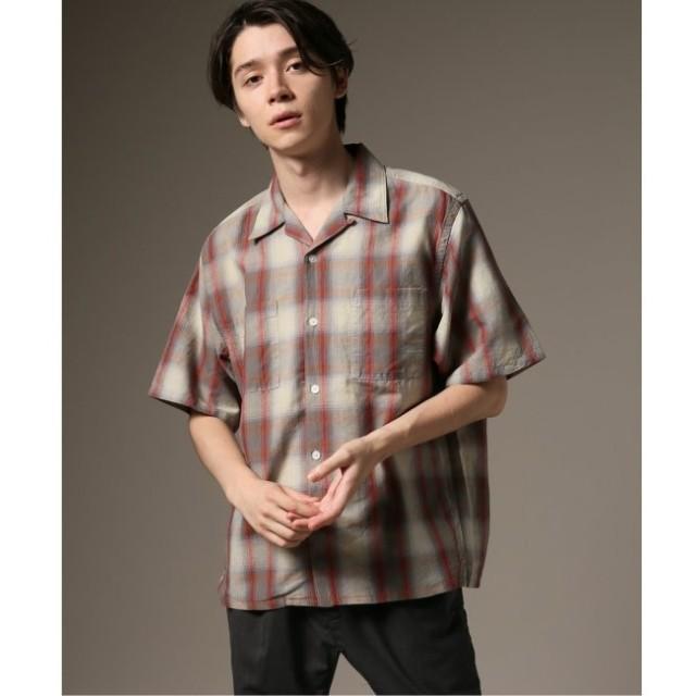 【ジャーナルスタンダード/JOURNAL STANDARD】 PENDLETON×relume 別注 S/S BORD オープンカラーシャツ