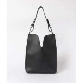 [ケービーエフボックス] 鞄 ショルダーバッグ センターデザインワンショルダー レディース ブラック one