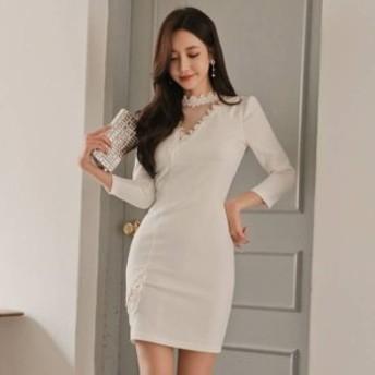 キャバ ワンピ 激安 キャバ ワンピース パーティードレス ミニ ドレス キャバクラ タイトドレス キャバドレス 大きいサイズ