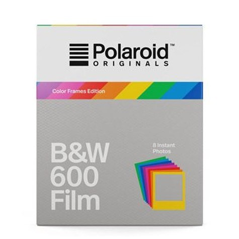 Polaroid B&W Film for 600 Hard Color Frames黑白底片(彩框4673) 過期品