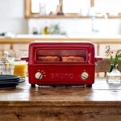 【大王家電館】【原廠公司貨+一年保固】BRUNO BOE033 經典多功能燒烤麵包機
