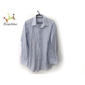 ダンヒル 長袖シャツ サイズ S S メンズ ライトブルー×ベージュ×マルチ チェック柄 新着 20190830