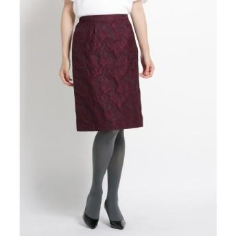 SunaUna / スーナウーナ 【洗える】アンエリーフラワースカート