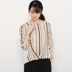 [マルイ]【セール】【洗える】オータムマルチストライプシャツ/スマートピンク(smart pink)
