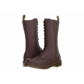 Dr. Martens ドクターマーチン レディース 女性用 シューズ 靴 ブーツ レースアップブーツ 1B99 14-Eye Zip Boot Dark Brown【送料無料】