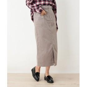 OPAQUE. CLIP オペークドットクリップ コーデュロイタイトスカート