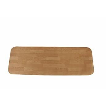 キッチンマット(60×180)2枚組 ライトオーク 室内繊維 マット カ-ペット キッチンマット AUC271-S-2(代引不可)