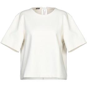 《セール開催中》JIL SANDER NAVY レディース スウェットシャツ アイボリー XS コットン 100% / ナイロン
