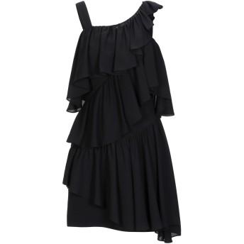 《セール開催中》LAMANIA レディース ミニワンピース&ドレス ブラック 38 ポリエステル 100%