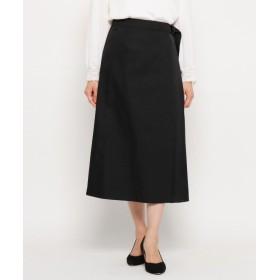 Modify(モディファイ) ギャバプリーツ切替スカート