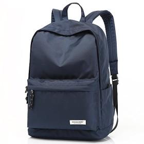 ZUMIT(JP) リュックサック バッグパック メンズ 30L 大容量 無地 シンブル おしゃれ 男女兼用 ショルダーバッグ 通学 通勤 ZMT810-2 ブルー