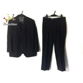 ゴタイリク 五大陸/gotairiku シングルスーツ サイズ34L メンズ ダークネイビー ネーム刺繍 新着 20190830