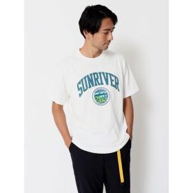 【6,000円(税込)以上のお買物で全国送料無料。】・サンリバーカレッジTシャツ