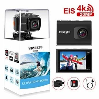 [進化版]AUNEX アクションカメラ スポーツカメラ 20MP 4K高画質 カメラ 2000万画素 手振れ補正 WiF・・・
