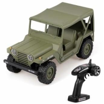 1/14ミリタリー M151 2.4G フルスケール比率 4WD オフロードRCカー ラジコン