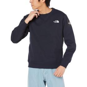 [ザ・ノース・フェイス] カットソー スクエアロゴクルー メンズ アーバンネイビー 日本 XL (日本サイズXL相当)