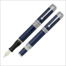 【限定品】アウロラ AURORA ダンテ・プルガトリオ 1265本生産 万年筆 シリアルナンバー入 ブルー18K M