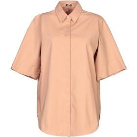 《期間限定 セール開催中》JIL SANDER NAVY レディース シャツ キャメル 34 コットン 96% / ポリウレタン 4%