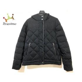 コントワーデコトニエ ダウンジャケット サイズ40 M レディース 黒×ライトブラウン×ベージュ 新着 20190830