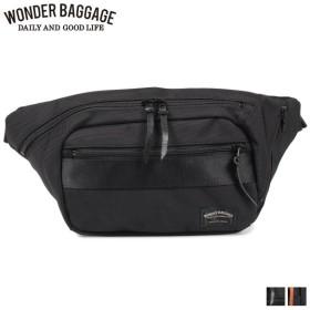 ワンダーバゲージ WONDER BAGGAGE バッグ ボディバッグ ウエストバッグ グッドマンズ メンズ GOODMANS WAIST BAG ブラック ネイビー 黒 WB-G-024