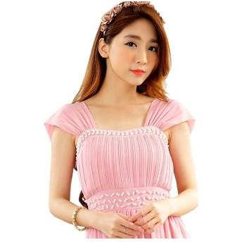 [sweet bell] ロングドレス ドレス ロング パーティードレス 演奏会 結婚式 キャバ フォーマル ピンク 大きいサイズ 2Lサイズ XLサイズ 13号