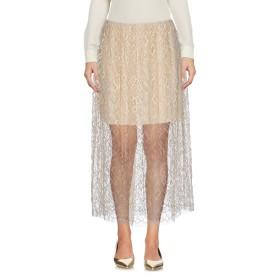 《セール開催中》ADAM LIPPES レディース 7分丈スカート ベージュ 6 レーヨン 40% / コットン 38% / ナイロン 22%
