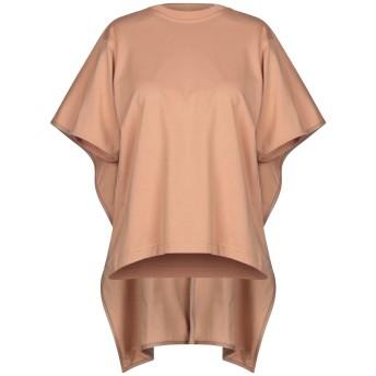《セール開催中》CELINE レディース T シャツ キャメル XS コットン 100% / 羊革(ラムスキン)