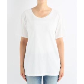 Deuxieme Classe ◇ROUND NECK Tシャツ ホワイト フリー