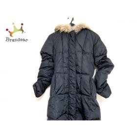 パオラ フラーニ PAOLA FRANI ダウンコート サイズ46 L レディース 美品 ネイビー 冬物 新着 20190830