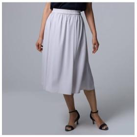 【アンタイトル/UNTITLED】 [L]【洗える】ウエストギャザースカート