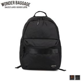 ワンダーバゲージ WONDER BAGGAGE リュック バッグ バックパック メンズ レディース 18L GOODMANS LIGHT PACK ブラック ネイビー 黒 WB-G-022