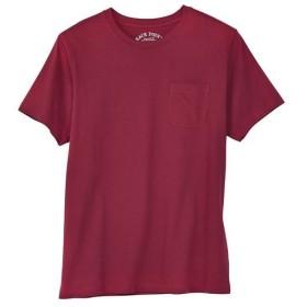 【レディース】 オーガニックコットン100%素材のクルーネックTシャツ(半袖) - セシール ■カラー:バーガンディワイン ■サイズ:S,M,L,LL,3L,5L,7L
