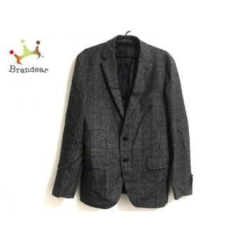 ユナイテッドアローズ UNITED ARROWS ジャケット サイズ48 XL メンズ 美品 黒×白 新着 20190830