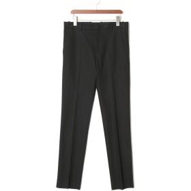 【70%OFF】PAOLO S.19 センタープレス パンツ ブラック 46