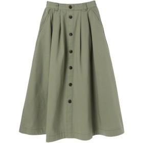 【5,000円以上お買物で送料無料】フロントボタンスカート