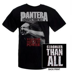 パンテラ PANTERA Tシャツ 俗悪 正規品 ロックTシャツ バンドTシャツ (L)