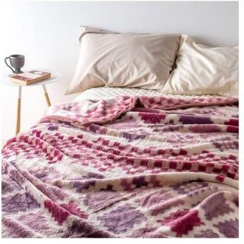 全品P5倍★2枚まとめ買い 毛布 シングル 西川 ニューマイヤー毛布 毛羽部分アクリル100% ブランケット