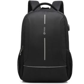 Fresion ビジネス リュック メンズ バッグ 出張 大容量 通勤・通学用に 15.6ノートPC収納可 バックパック ポケット多い 防水生地 usbポート付き キャリーに装着
