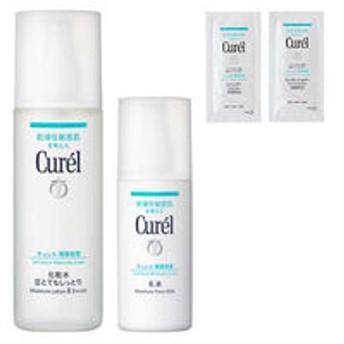 Curel(キュレル) 化粧水3 とてもしっとり 150mL+乳液 120mL シャンプー・コンディショナーサンプル付 花王