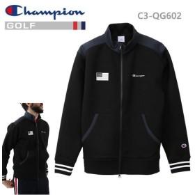 チャンピオン ゴルフ Wrap-Air フルジップジャケット  ストレッチ C3-QG602-090 ブラック Champion GOLF 日本正規品【C1】