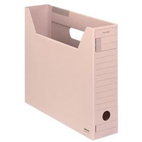 (まとめ) コクヨファイルボックス-FS(Fタイプ) A4ヨコ 背幅75mm ピンク A4-SFFN-P 1セット(5冊) 〔×10セット〕【配達日時指定不可】