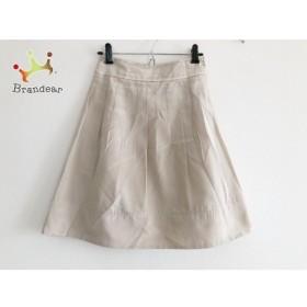 ジャスグリッティー JUSGLITTY スカート サイズ1 S レディース 美品 ベージュ 新着 20190830