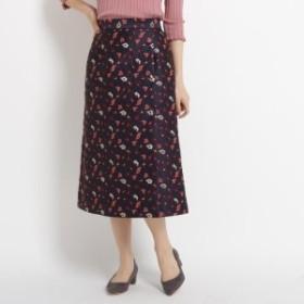 エージー バイ アクアガール(AG by aquagirl)/フラワージャカードラップ風スカート