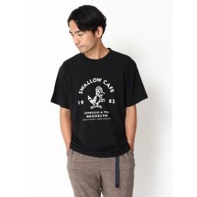 【6,000円(税込)以上のお買物で全国送料無料。】・カフェロゴTシャツ