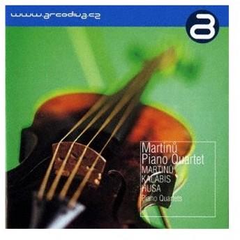クラシック/マルティヌー/カラビス/フサ:ピアノ四重奏曲集