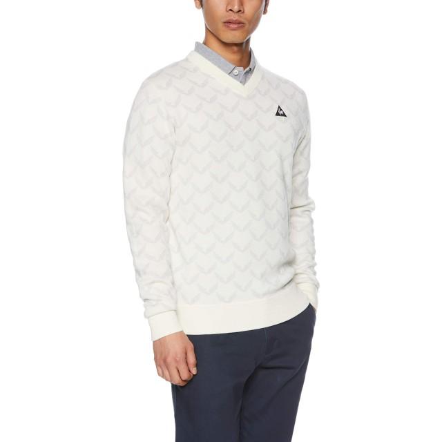 [ルコックスポルティフゴルフ]セーター メンズ ホワイト 日本 L (日本サイズL相当)