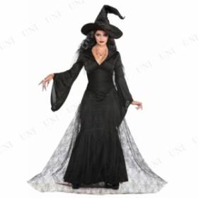 コスプレ 仮装 ブラックミストウィッチ M/L 仮装 衣装 コスプレ ハロウィン 余興 大人 コスチューム 女性 魔女 大人用 女性用 レディース