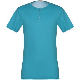 《9/20まで! 限定セール開催中》BELLWOOD メンズ T シャツ アジュールブルー 48 コットン 100%
